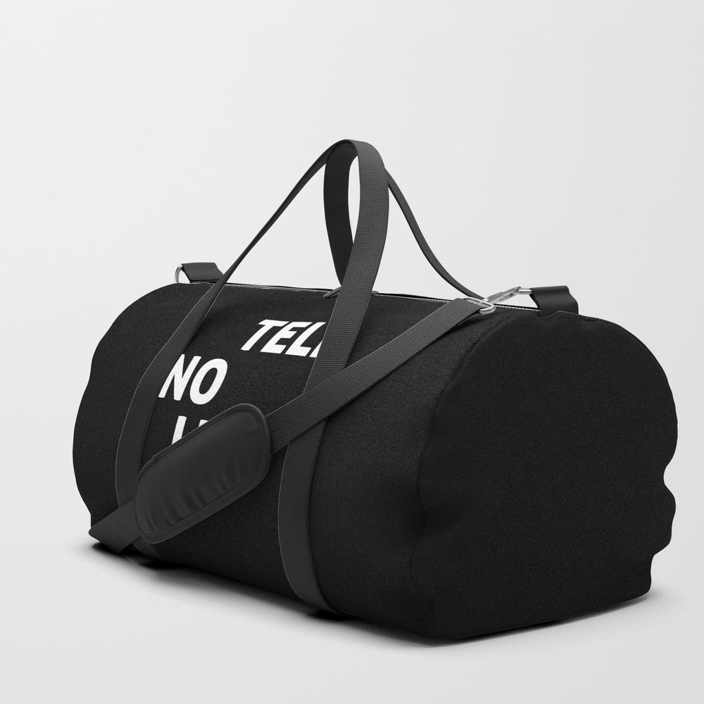 Tell No Lies Duffle Bag by Royallart DFL8798479