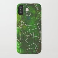 squirtle iPhone & iPod Cases featuring Squirtle by pkarnold + The Cult Print Shop