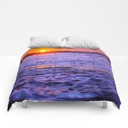 dusk to wave Comforters