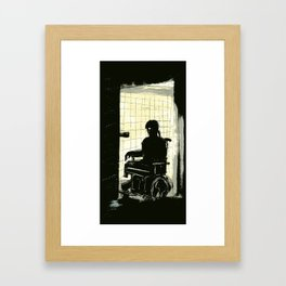 Four is Enough - Illustration Framed Art Print