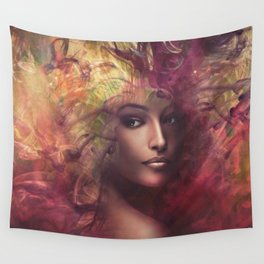 fantasy woman composite Wall Tapestry