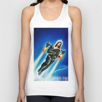 christ Tank Tops featuring Cosmic Christ by Saint Lepus