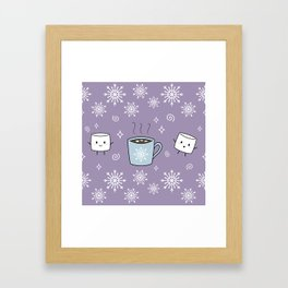 Winter Treat Framed Art Print