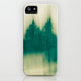 Winter Tree Abstract iPhone Case