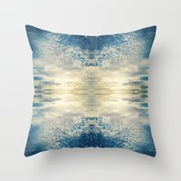 fractal Throw Pillows featuring Fractal by GBret