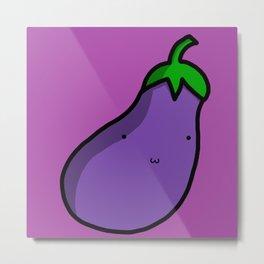 Eggplant | Veronica Nagorny Metal Print