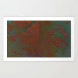 Grayed Art Print