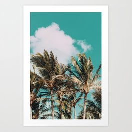 Palm Trees and Island Breeze Art Print