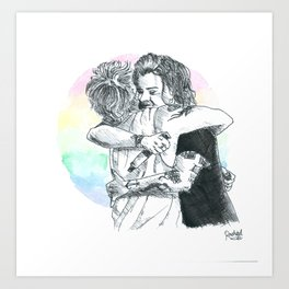 Larry Hug 2015 Art Print