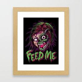 Feed Me Framed Art Print
