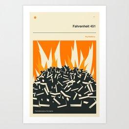 °F 451 Art Print