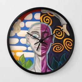 Wake and Dream Wall Clock