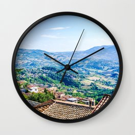 View of San Marino Wall Clock