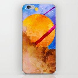 Saturn Crashed iPhone Skin