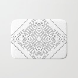 Geometric #1 Bath Mat