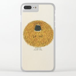 Poofy Wan Clear iPhone Case