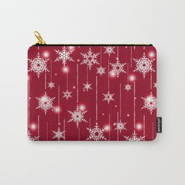 Bright Christmas background. Carry-All Pouch