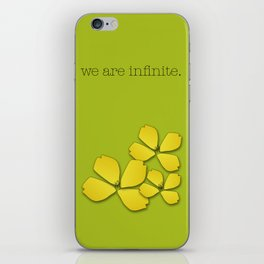 the perks of being a wallflower :: stephen chbosky iPhone Skin
