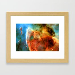 A Game of Shadow and Light Framed Art Print