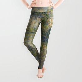 """Claude Monet """"Poplars on the Epte"""" Leggings"""