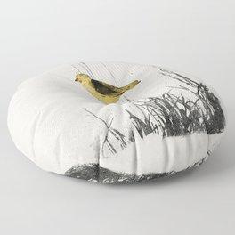 Bird Floor Pillow