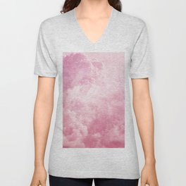 Cotton Candy Sky Unisex V-Neck