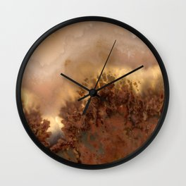 Idaho Gem Stone 15 Wall Clock