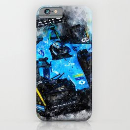 Nelson Piquet junior, Formula E iPhone Case