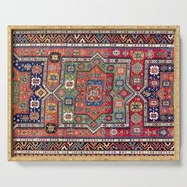Kuba Sumakh East Caucasus Antique Rug Print Serving Tray