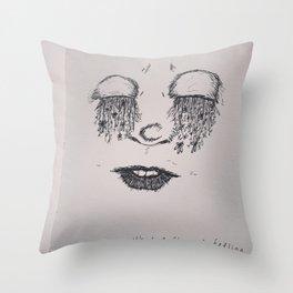 What a Strange Feeling Throw Pillow