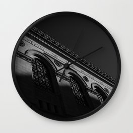 Boston Public Library Wall Clock