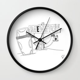 Baewatch. Wall Clock