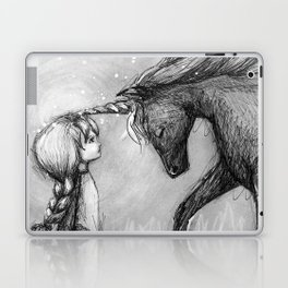 Enchantment of the Unicorn Laptop & iPad Skin