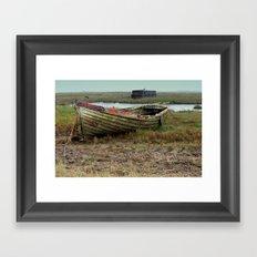 Old Boats Framed Art Print