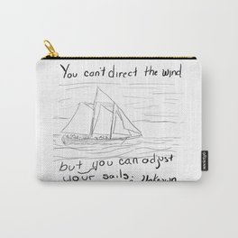 Adjust Your Sails Carry-All Pouch