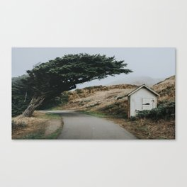 Point Reyes Cabin, California Canvas Print