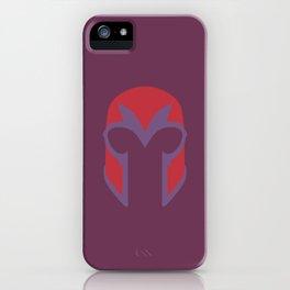 Magneto Helmet iPhone Case