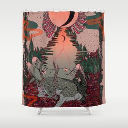 Outdoor Voices Shower Curtain