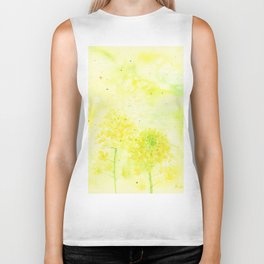 Sparking Summer , Art Watercolor Painting by Suisai Genki Biker Tank