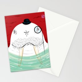 Sir Wilfred Wallace, The Wonderful Walrus Stationery Cards