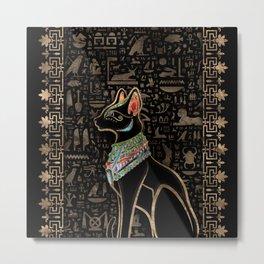 Egyptian Cat - Bastet  Metal Print