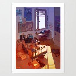 Suga's room Art Print