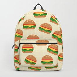 Cute Burgers Backpack