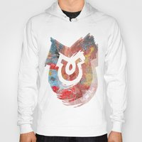 illusion Hoodies featuring Illusion by The Ugly Toad