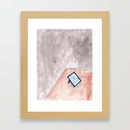 DESK Framed Art Print