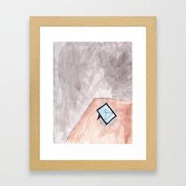 DESK Framed Art Print