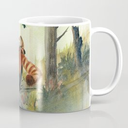 Red Panda Family Coffee Mug