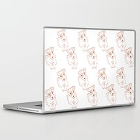 jack russell Laptop & iPad Skins featuring Jack russell by 1 monde à part