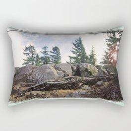 A WARM SPOT ON THE RIDGETOP Rectangular Pillow