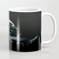 bane Mugs featuring Bane by Vanessa Leach
